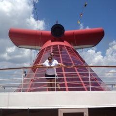 Photo taken at Carnival Legend by Suzana U. on 5/27/2012