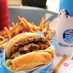 Photo taken at Elevation Burger by Burger Days on 9/20/2011