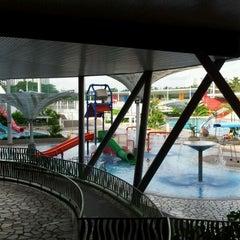 Photo taken at Sengkang Swimming Complex by Skye Raphael L. on 8/19/2011