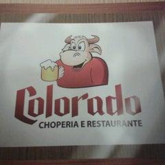 Photo taken at Choperia Colorado by Mariana F. on 7/14/2012