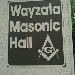 Photo taken at Wayzata Masonic Lodge #205 by Timothy J. on 11/19/2011