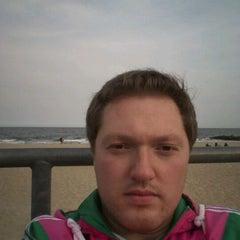 Photo taken at Asbury Park Beach by Anton V. on 3/23/2012