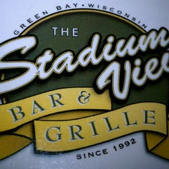 Photo taken at Stadium View Bar and Grill by Brian L. on 8/29/2011