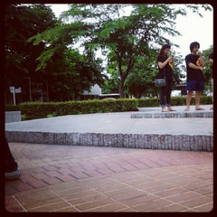Photo taken at Bangkok University International College (BUIC) by Michaelgmz L. on 8/9/2012