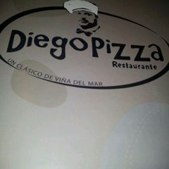 Photo taken at Diego Pizza by Andrés G. on 12/31/2011