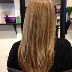 Photo taken at Tease Hair Salon by Alina B. on 5/4/2012