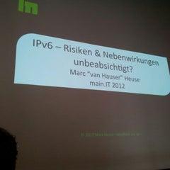 Das Foto wurde bei iWelt AG von Ralf T. am 9/13/2012 aufgenommen