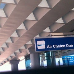 Photo taken at Air Choice One Terminal 3 by Miles D. on 5/21/2012