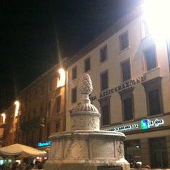 Photo taken at Fontana della Pigna by Andrea R. on 10/1/2011