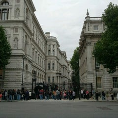 Photo taken at 10 Downing St. by Davide B. on 8/18/2011