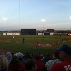 Photo taken at Modern Woodmen Park by Connie C. on 4/7/2012