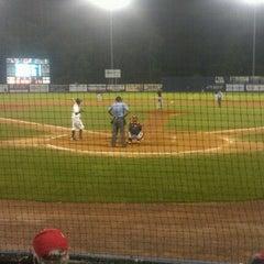 Photo taken at Dutchess Stadium by Bill R. on 9/4/2011