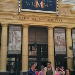 Photo taken at Revenge Of The Mummy by Chuck W. on 9/5/2011