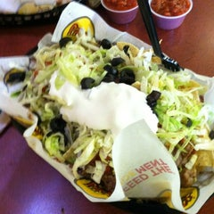 Photo taken at Moe's Southwest Grill by Chelsie S. on 10/14/2011
