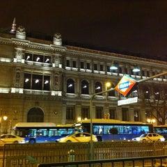 Photo taken at Metro Banco de España by Lu S. on 3/1/2012