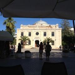 Photo taken at Indigo Cafe by Apostolis A. on 5/19/2012