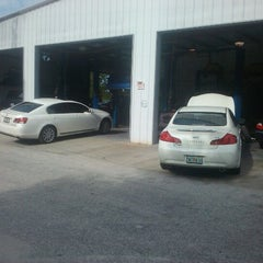 Photo taken at Mad Hatter Auto Center by Chris L. on 8/3/2012
