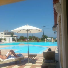 Photo taken at Chryssana Beach Hotel by Sof T. on 8/18/2012