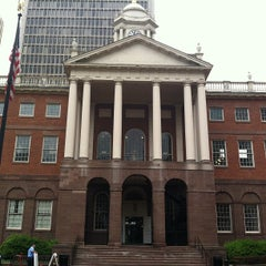 Photo taken at Connecticut's Old State House by mz. l. on 7/31/2012