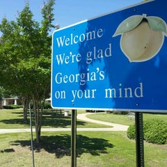 Photo taken at Georgia Welcome Center by Anthony N. on 6/3/2012