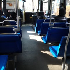 Photo taken at Bus 64 (Green St. & Magazine St.) by David F. on 2/22/2012