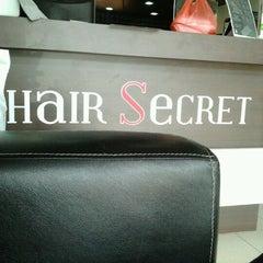 Photo taken at Hair Secret Saloon by Denis Avin F. on 4/7/2012