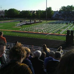 Photo taken at Naperville North High School by Heather C. on 5/21/2012