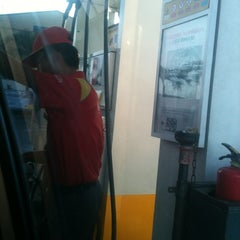 Photo taken at Shell Gasoline Station by KreeAila B. on 4/17/2012