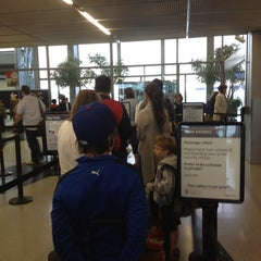 Photo taken at Terminal 3 Security Checkpoint by zumohub D. on 5/6/2012