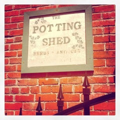 Photo taken at The Potting Shed by nicole B. on 5/10/2012