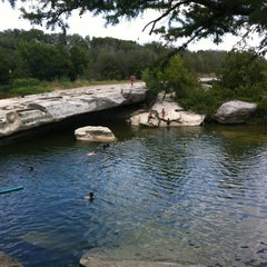 Photo taken at McKinney Falls State Park by Cheisha H. on 8/16/2012