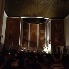 Photo taken at Catedral Santa Teresinha by Luiz Fernando M. on 5/27/2012