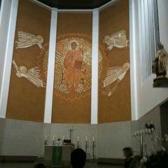 Photo taken at Catedral Santa Teresinha by Livia D. on 7/15/2012