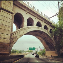 Photo taken at I-76 Schuylkill Expressway by Sarah D. on 5/5/2012