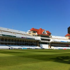 Photo taken at Trent Bridge Cricket Ground by Richard E. on 5/22/2012