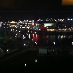 Photo taken at Hampton Inn - Broadway at the Beach by Phil R. on 12/21/2011