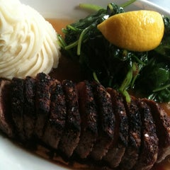 Photo taken at Gibsons Bar & Steakhouse by MlleTravelista on 7/1/2011
