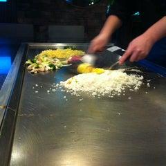 Photo taken at Wasabi Japanese Steakhouse by Sebastian B. on 1/12/2012