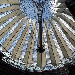 Photo taken at Potsdamer Platz by Nils B. on 7/30/2012