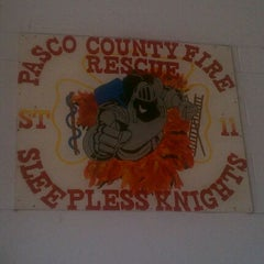 Photo taken at Pasco county fire rescue station 11 by Eric T. on 10/30/2011
