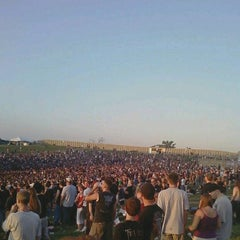 Photo taken at Klipsch Music Center by Qatadah N. on 8/31/2011