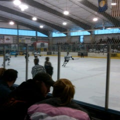 Photo taken at Glacier Ice Rink by Jeff D. on 4/21/2012