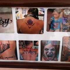 Photo taken at Gong Tattoo by Nina H. on 10/13/2011