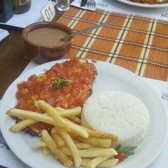 Photo taken at Baiah Brasa Restaurante by Allan B. on 9/26/2011