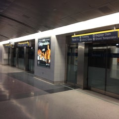 Photo taken at Las Vegas Airport Tram by Andy C. on 2/16/2012