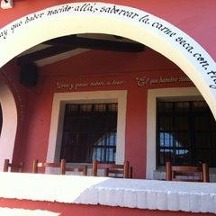 Photo taken at El zacahuil huasteco by Aleyda G. on 12/6/2011