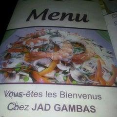 Photo taken at Jad Gambas by Mustapha M. on 1/4/2012
