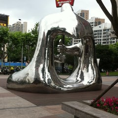 Photo taken at 大拇指广场 | Thumb Plaza by Yaw L. on 6/15/2012