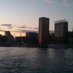 Photo taken at Water Taxi Landing 2 - Harborplace by Tiffany C. on 10/1/2011