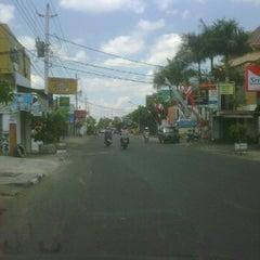 Photo taken at Jalan Taman Siswa by Dimas K. on 9/4/2011